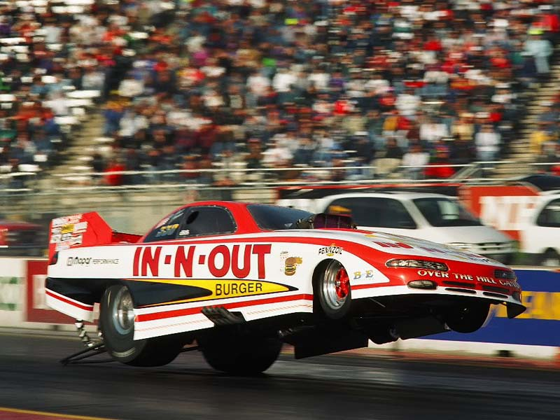 In-n-out burger funny car