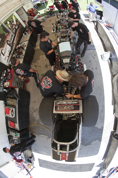 High Speed Motorsports team - 2010 TF Champs