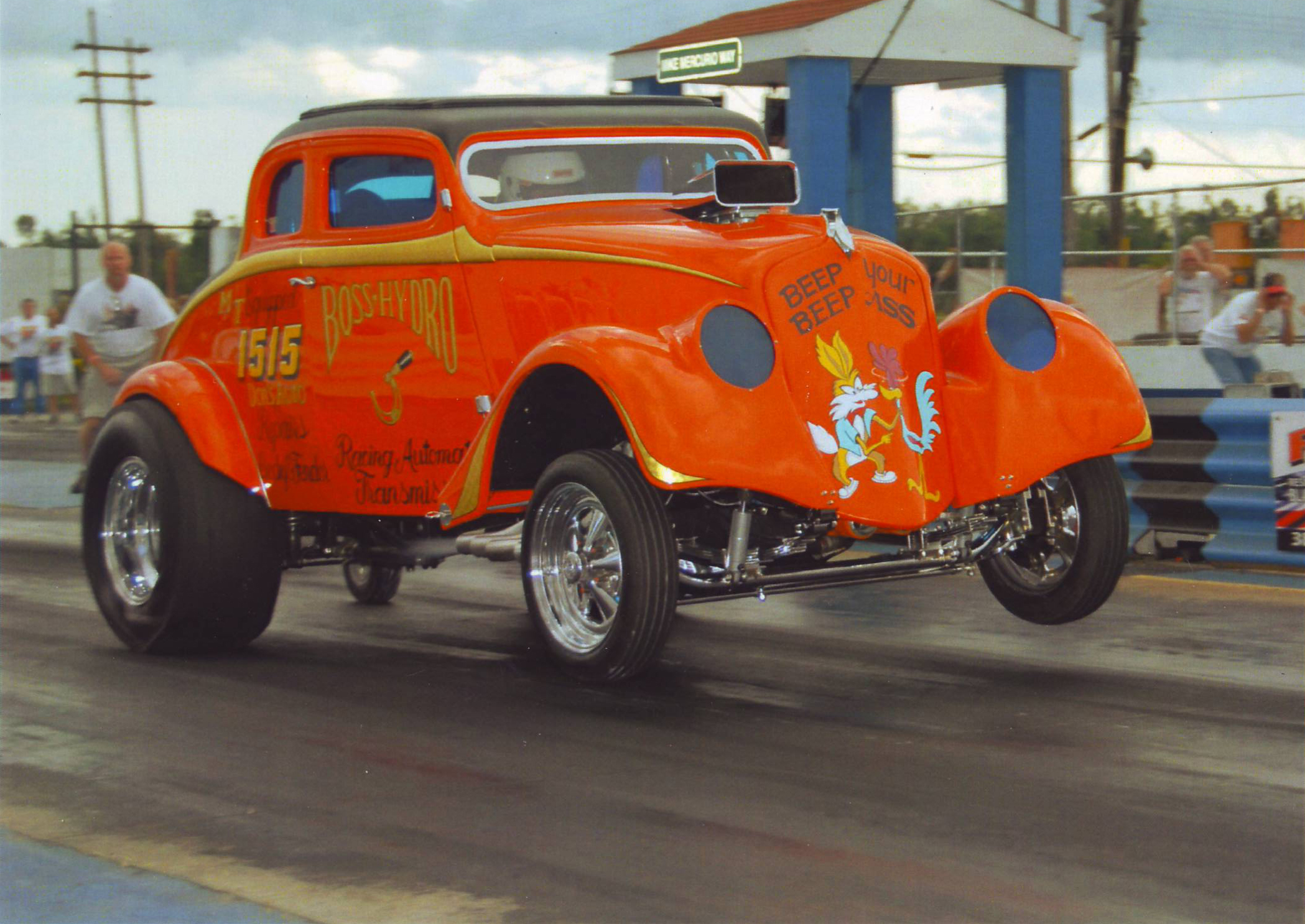 Boss Hydro 1933 Willys. Photo courtesy of Rocky Pirrone.