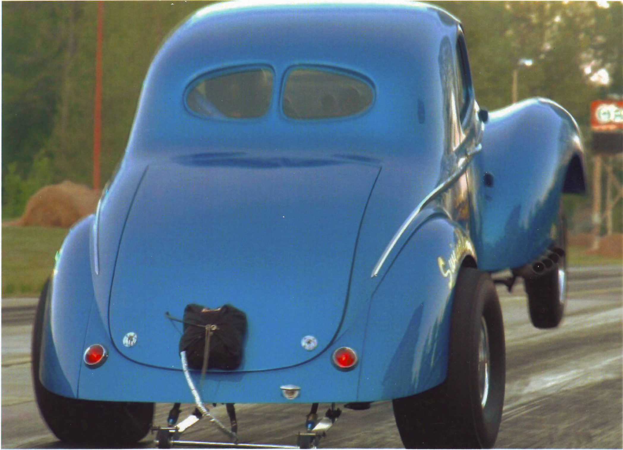 Dennis Taylor's 1941 Willys Coupe