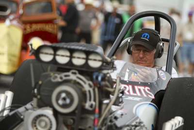 Big Daddy Don Garlits Cackling