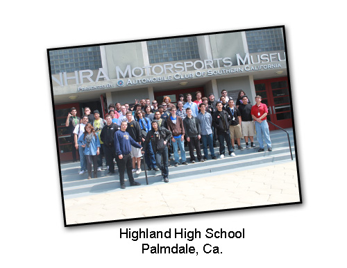Highland High School Tour - Auto Program