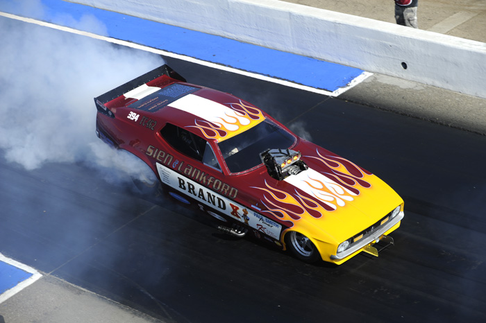 CHRR Nostalgia Funny Car Champion Mike Lewis