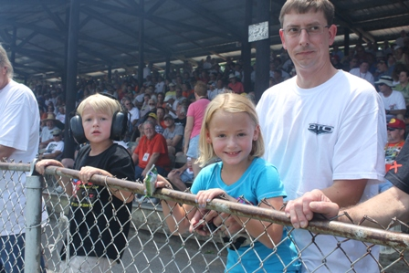 Fans of all ages at the National Hot Rod Reunion