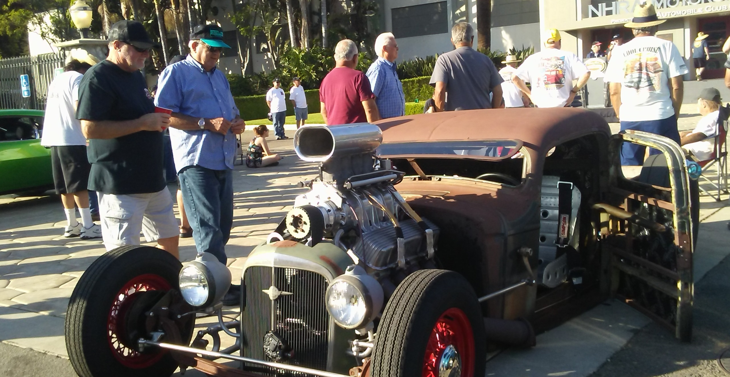 Rat rod at the Twilight Cruise